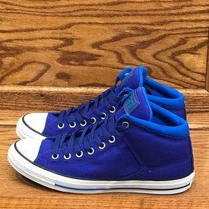 Converse CTAS Hi True Indigo Soar White Shoes